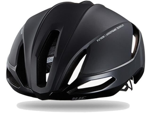 HJC Furion Road Helmet matt gloss black